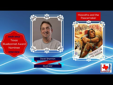 David Shannon interview - Hiawatha and the Peacemaker