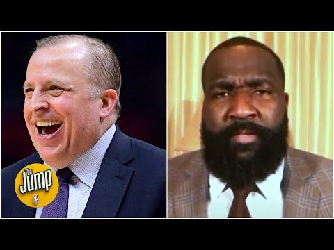 Kendrick Perkins praises Tom Thibodeau for Knicks' success | The Jump