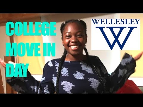 Wellesley College Move In Day VLOG! | Freshman Year