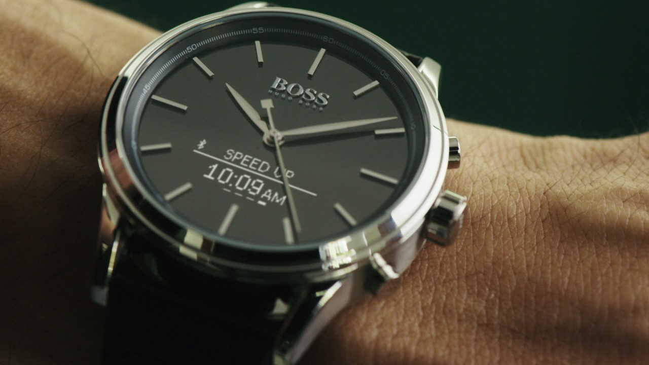 f5e817ffb Hugo Boss Smart Watches - YouTube