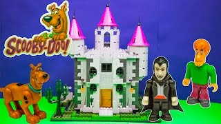 SCOOBY DOO Cartoon Network Scooby Doo Haunted Mansion Character Blocks a Scooby Doo Video Review