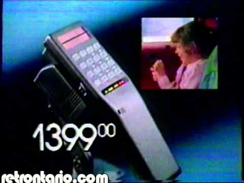 Radio Shack Cell Phones 1987