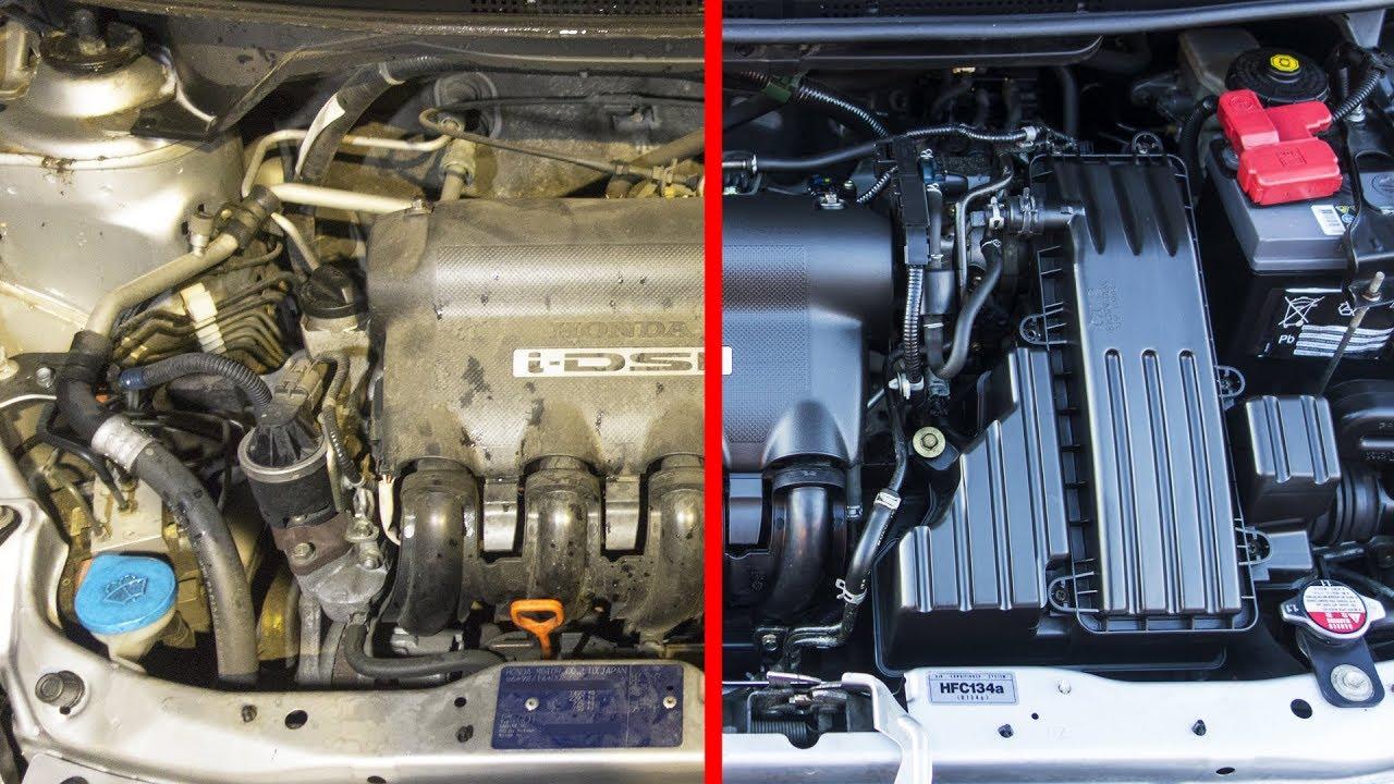 trucos como limpiar el motor del coche la mejor manera