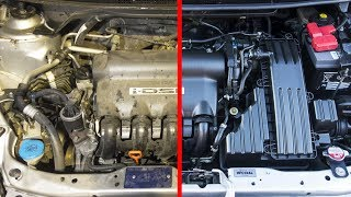 TRUCOS | Como Limpiar el Motor del Coche -  La Mejor Manera de Lavar un Motor thumbnail