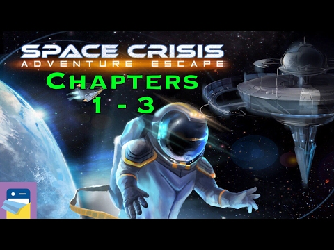 Adventure Escape Space Crisis: Chapters 1, 2 & 3 Walkthrough & iOS iPad Air 2 Gameplay (Haiku Games)