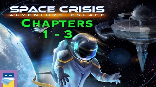 Adventure Escape Space Crisis: Chapters 1, 2 & 3 Walkthrough & iOS iPad Air 2 Gameplay (Haiku Games)