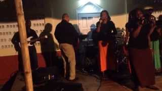 Testimony Gospel Band- i know who i am, live in Grenville