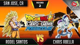 Dragon Ball Super Card Game Gameplay [DBS TCG] San Jose Regional Round 2