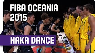 Tall Black's Haka Ahead of Game 1 at the 2015 FIBA Oceania Championship