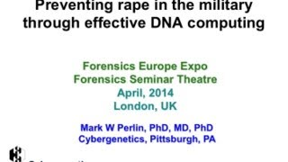Preventing rape in the military through effective DNA computing