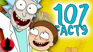 107 Rick and Morty Facts YOU Should Know! New and Improved! Rick and Morty Facts! (107 Facts S7 E5)