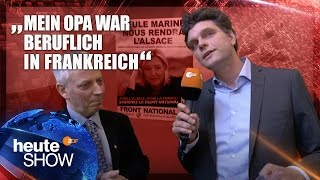 Lutz van der Horst interviewt den Front-National-Chef vom Elsass | heute-show vom 21.04.2017