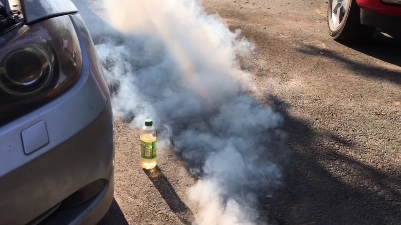 BMW 335i N54 Boost Leak and Smoke Test