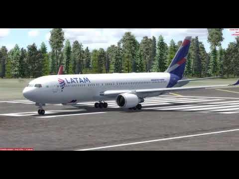 BOEING 767-300 LATAM BRASIL