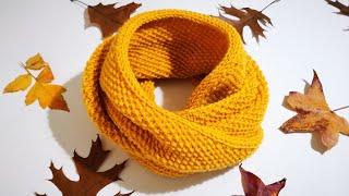 Pirinç Örgülü Dikişsiz Boyunluk Yapımı / Infinity scarf
