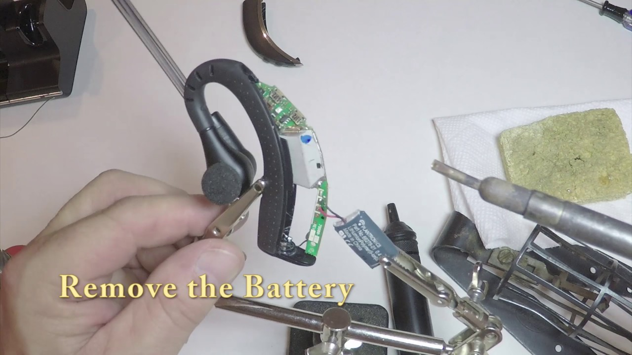 Diy Plantronics W02 Battery Replacement Youtube