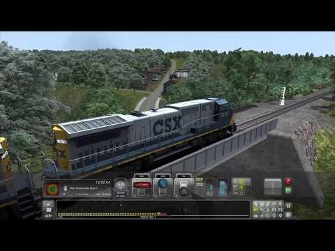 Train Simulator: CSX Dash 8's on the Norfolk Southern Coal District |