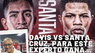 GERVONTA DAVIS vs LEO SANTA CRUZ, para este experto ganará...