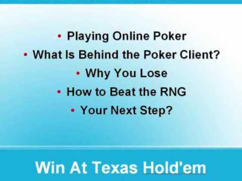 Poker Crack - Online Poker Code To Win At Texas Holdem