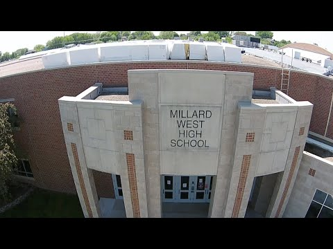 Millard West High School 2020 Graduation Parade
