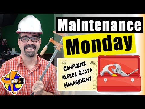 Save Space! Use Akeeba Backup Quota Management in Joomla 🛠 Maintenance Monday Live Stream #006