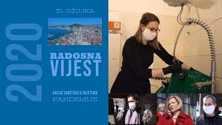 Akcije Caritasa u uvjetima pandemije