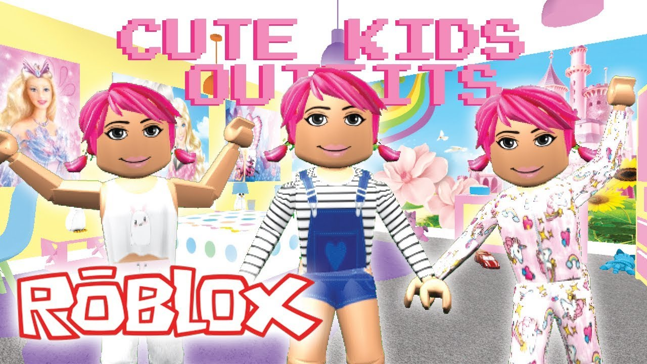 10 Roleplay Children Outfits For Girls With Links Roblox Youtube