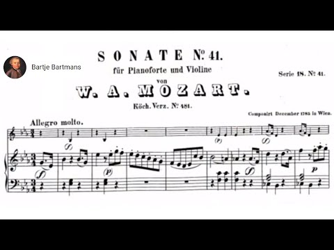 Mozart - Violin Sonata No. 33, E-flat Major, K. 481 [Szeryng/Haebler]