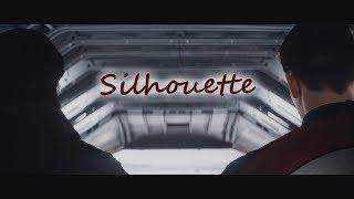 MCU    Steve/Bucky    Silhouette