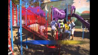 Ymca Playground Build