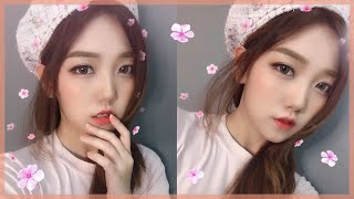 [ LILYBYRED ] Hello Spring Korean Makeup Tutorial for Beginners