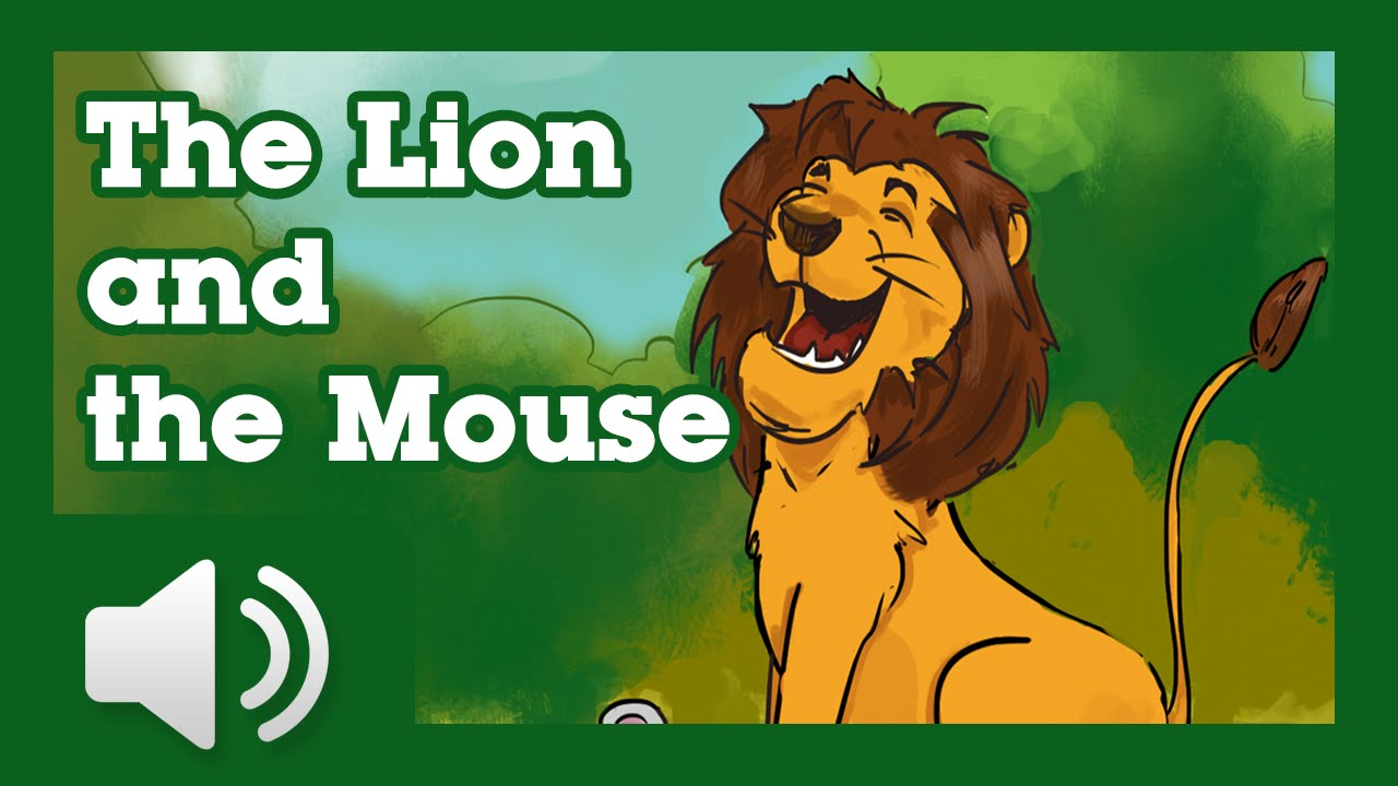 The Mouse and the Lion - Children Story by Tales with GiGi