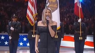 Fergie Slammed for Bluesy National Anthem Rendition at NBA All-Star Game