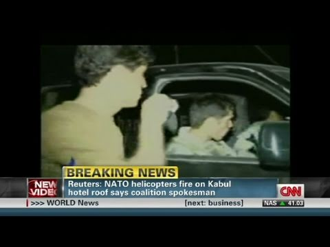 Witness: NATO troops at Kabul hotel