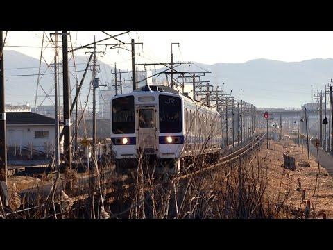 水戸線 心の旅路 415系 小山へ 2015/01/09