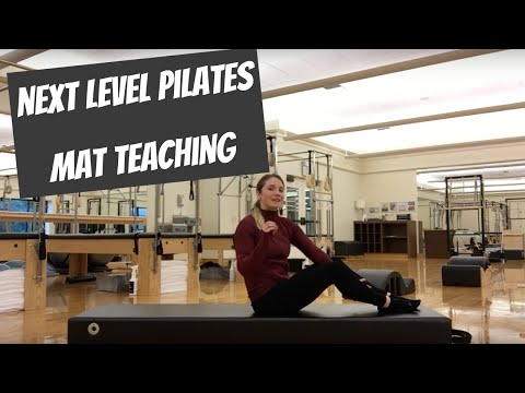 Teach your BEST Pilates Mat Class!