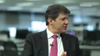 TV Estadão entrevista Fernando Haddad