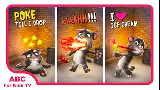 Talking Tom Cat  Free Gameplay Best Fun Of Tom l ABC For Kids TV