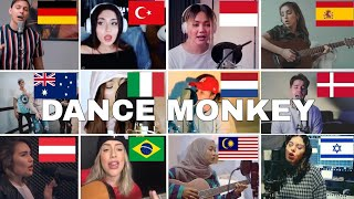 Gambar cover Who Sang It Better : Dance Monkey - Tones and I ( 12 different countries )
