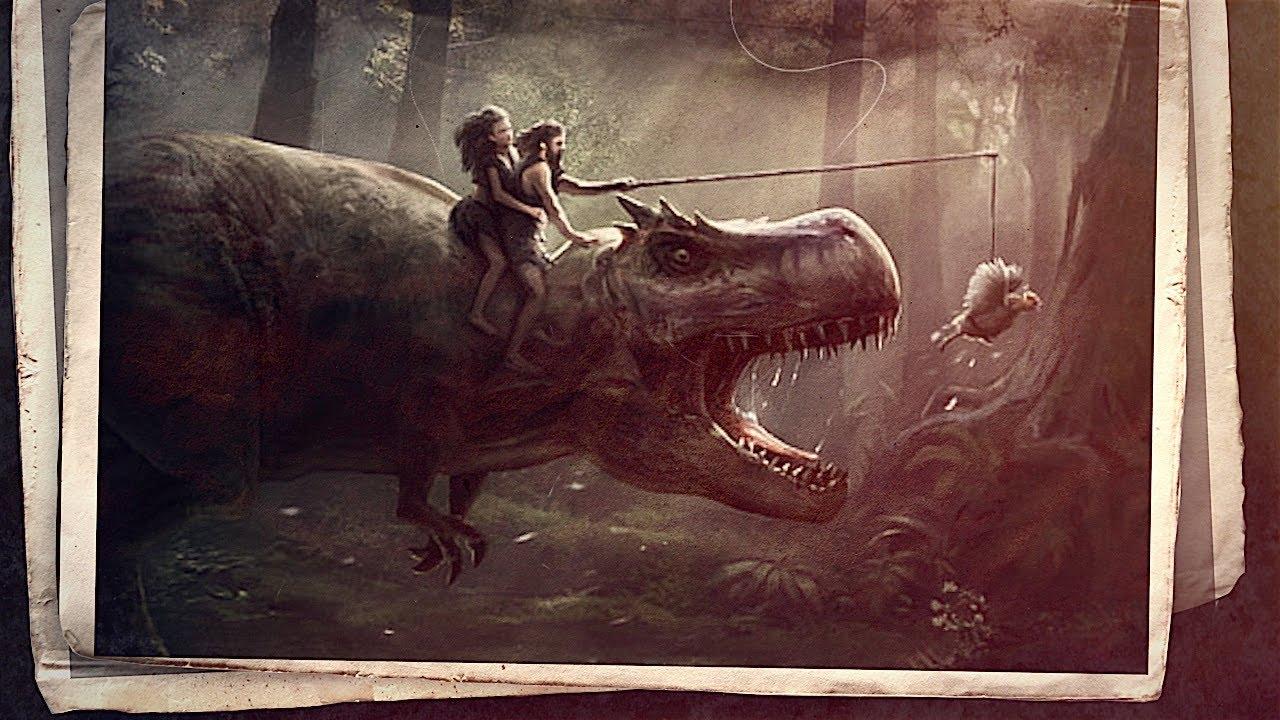 هل عاش الإنسان في عصر الديناصورات أم لا Youtube