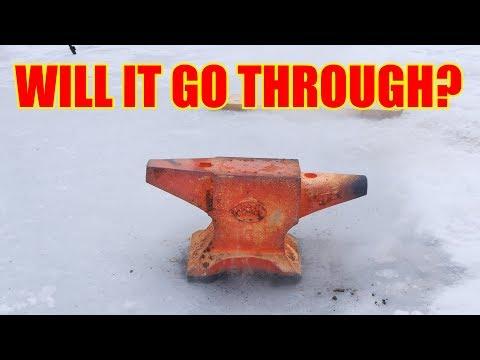 Red Hot Anvil Vs. Frozen Lake (50kg / 110lbs)