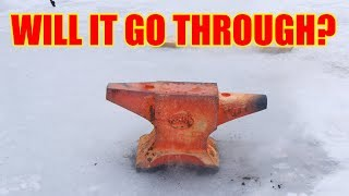 Red Hot Anvil Vs. Frozen Lake (50kg / 110lbs)