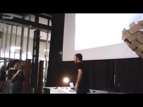 IAAC Lecture Series 2017 - Farshad Mehdizadeh