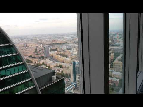 Москва сити. Башня Москва. 60 этаж.