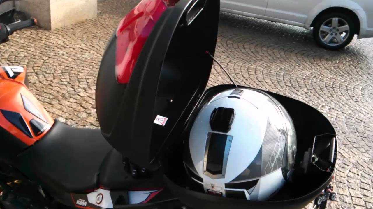 Givi top case space helmet caberg espa o capacete ktm for Best helmet for motor scooter