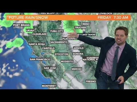 California Rain & Snow Forecast: November 6, 2020