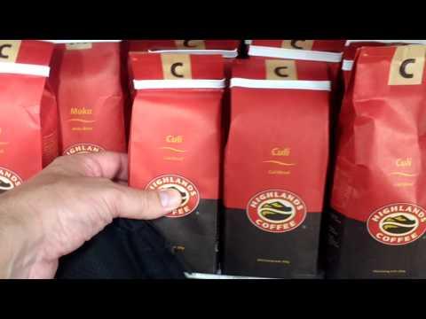 Coffee at Supermarket-Hanoi, Vietnam