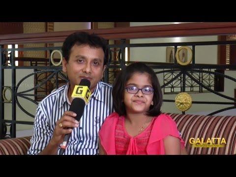 Singer UnniKrishnan on daughter Uthra's maiden song