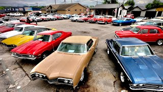 Classic American Muscle Car Inventory Walk Maple Motors 5/26/20