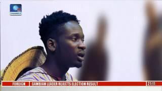 EN Why I Didnt Want To Return To Nigeria  - Music Star Mr Eazi